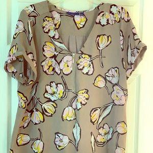 Flowered blouse